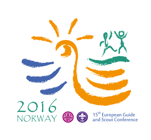 Logo 15th European Guide and Scout Conference